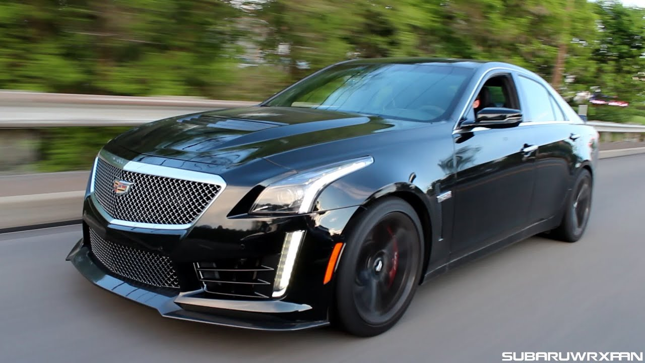 My Week with the 2016 Cadillac CTS-V! - YouTube