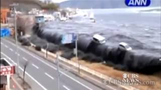 Watch  30-story wind turbine floats off coast of Japan