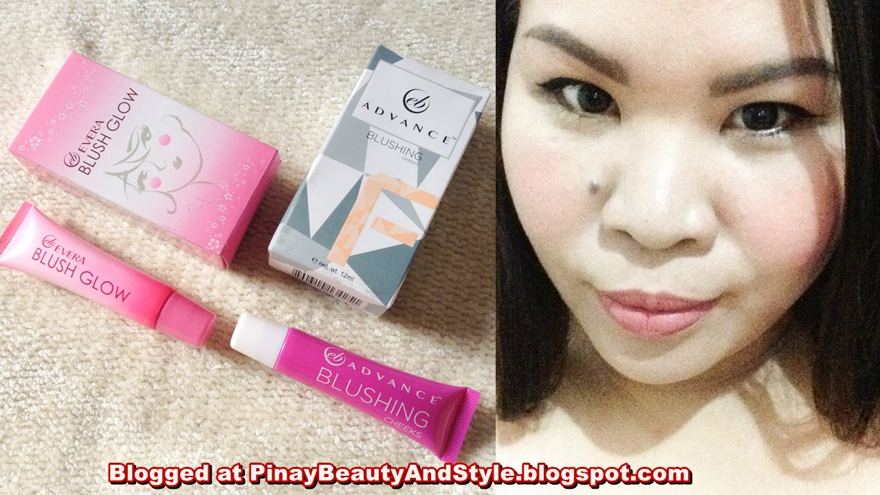 EB Advance Blushing Cheeks Review VS Ever Bilena Blush Glow Review ...