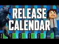 Release Calendar - March 28-April 3, 2016