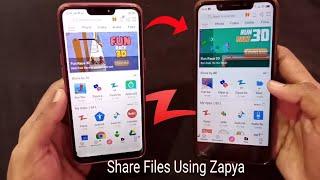 How To Share Files & Video Using Zapya screenshot 2