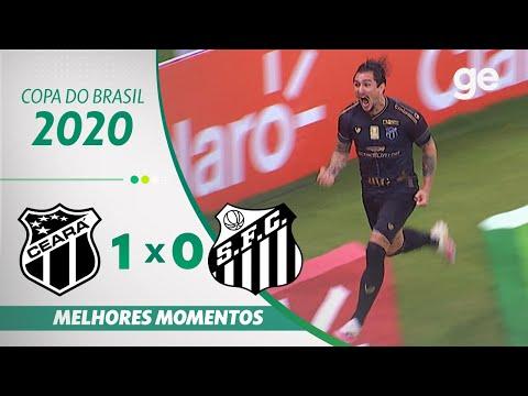 Ceará Santos Goals And Highlights