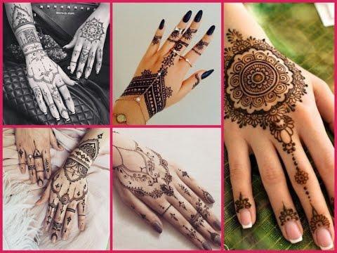 20 New DIY ideas Henna Tattoo , Mehndi Designs For Hands