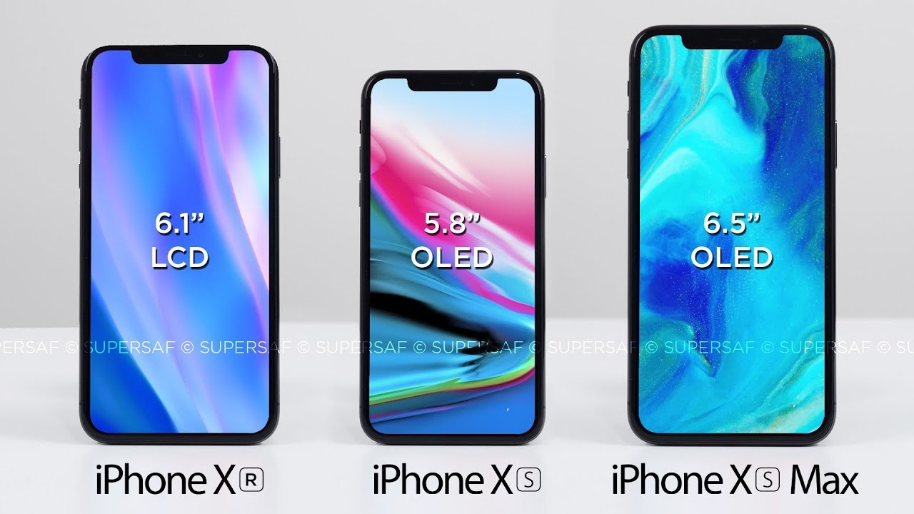 the 3 new iphones for 2018 youtube