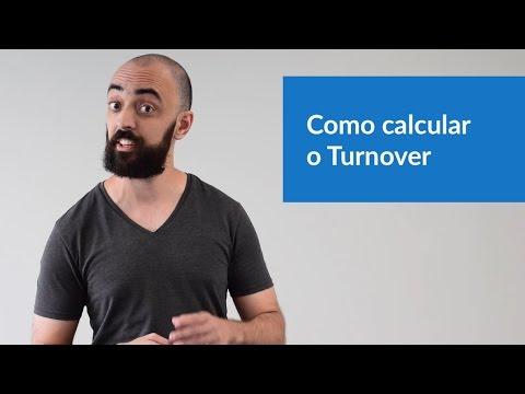 Como calcular o Turnover?