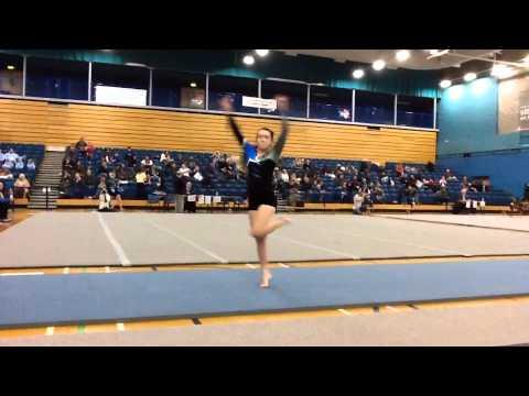 middle school girl dirty gymnastics