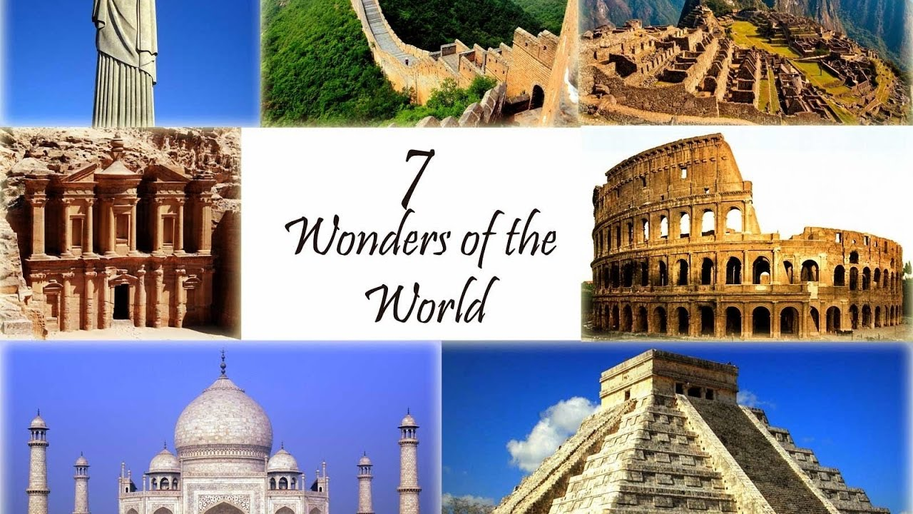 amazing 7 wonders of the world Seven wonders of the world: discover amazing monuments to civilization with 20 projects (build it yourself) apr 1, 2011 by carmella van vleet and farah rizvi paperback.