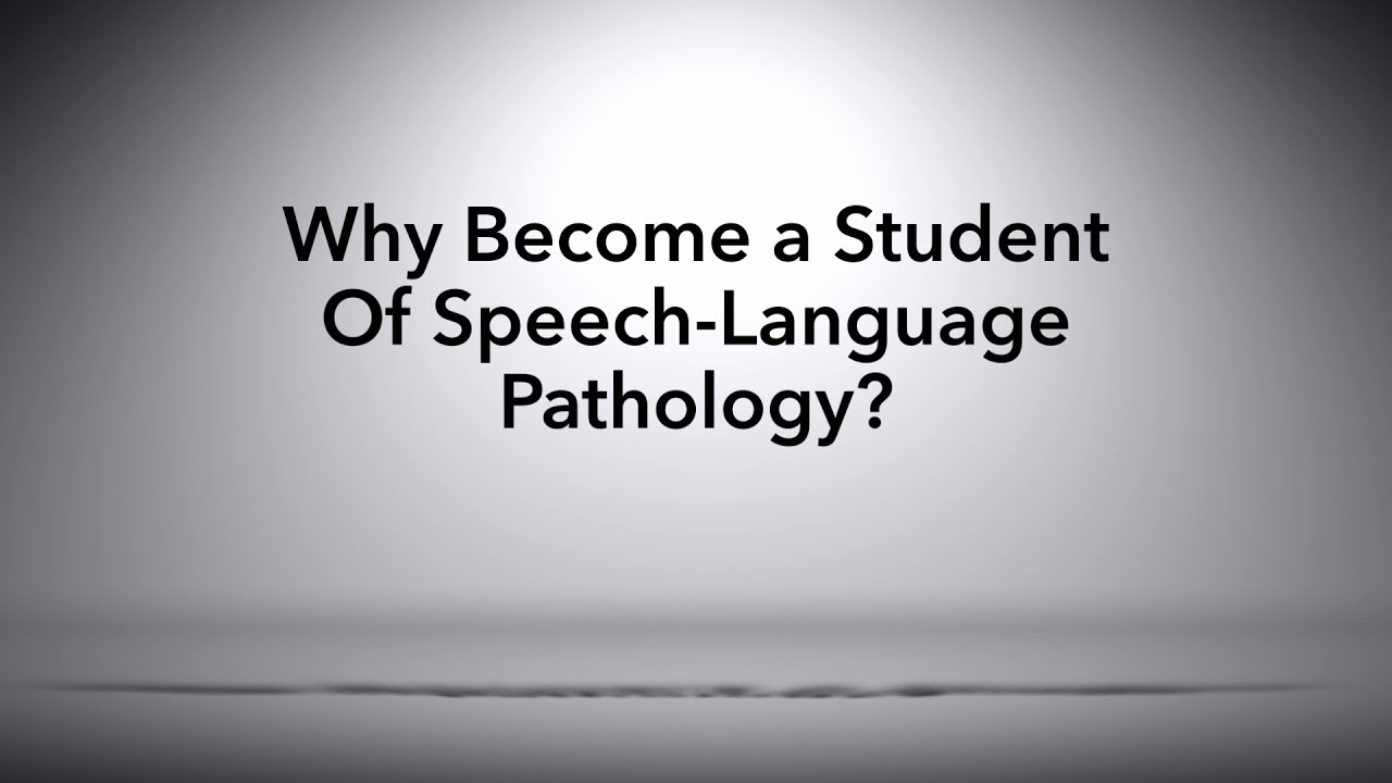 why become a speech pathologist essay People who searched for pathologist: educational requirements and career summary educational requirements and career summary speech pathologist become a.