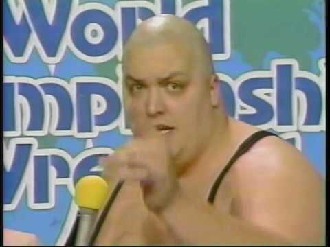 King Kong Bundy and Road Warriors Part 2: promos after ring encounter