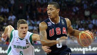 USA vs Slovenia 2010 FIBA World Basketball Championship Group Game HD 720p FULL GAME English