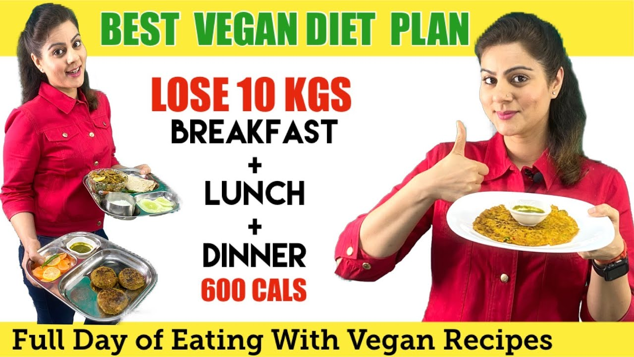 Easy Indian Vegetarian Diet Plan For Weight Loss Fast 600 Calorie Vegan Diet Plan For Pcos Pcod Youtube