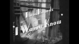 FloodHounds - I Wanna Know