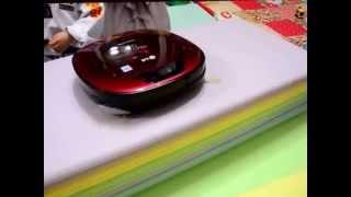 로봇청소기 로보킹 놀이방매트 청소하면 떨어질까