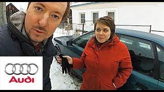 Старый немецкий хлам, или? | Авто за 100 тыс. рублей | AUDI 80 B4
