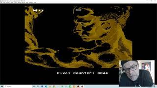 """Heaven's Demo Scene Post Mortem #1 Atari 800 XL """"8kdentro"""" - 1996"""