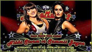 Full Match - Nikki Storm vs. Sammii Jayne (Loser Leaves ICW)