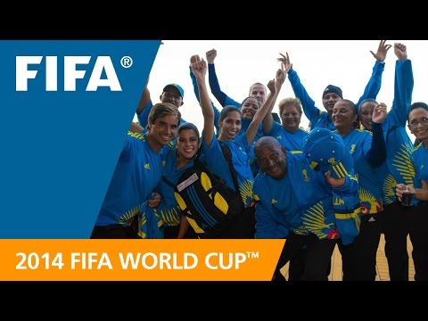 FIFA World Cup Volunteers: 14,000 heroes