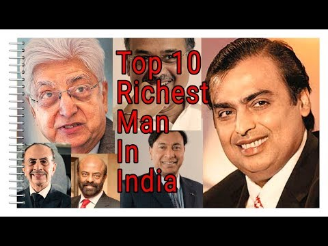 Top 10 Richest Man In India | Indian Richest People | Everything Is Possible