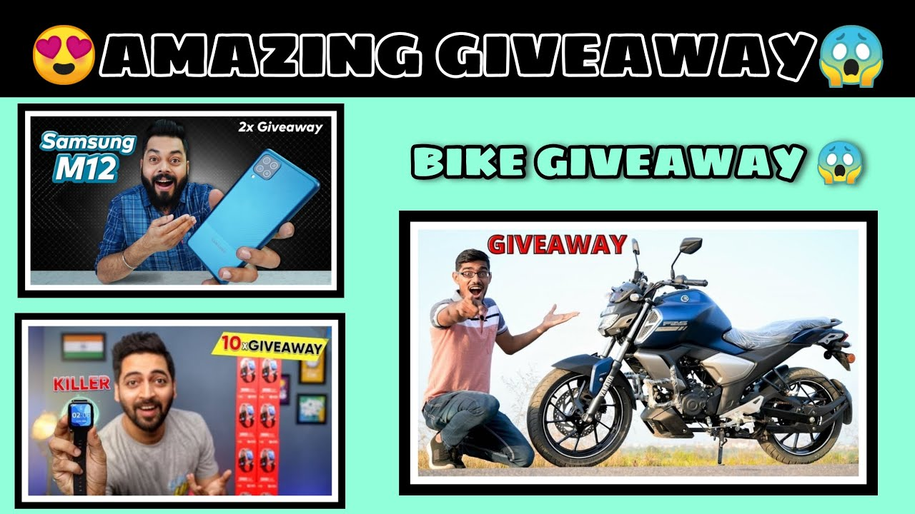 #GIVEAWAYRESULTS 1.40 LAKH BIKE GIVEAWAY CREZY XYZ😱  by giveaway time
