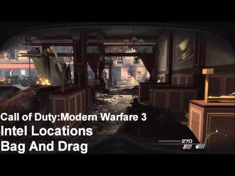 Call of Duty Modern Warfare 3 - Intel Location Guide - All 46 Intel