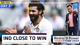 INDIA close in on VICTORY at MCG   Redmi 9 Power presents 'Thunder Down Under'   2nd Test DAY 3