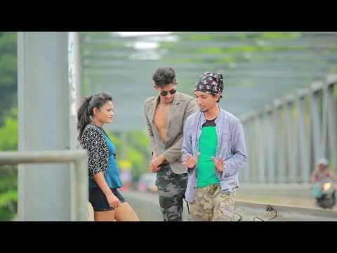 Adarey On Location   Sandesh Bandara Song
