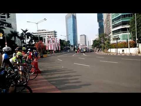 Tour de Jakarta 2016 Highlight