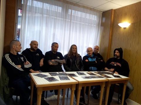 KOZH DALL DIVISION Interview Paris 4 Février 2017 Philtor, Crass, Eric, Laurent, Vince, Tang, Chris