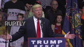 USA: 'I didn't have to bring J-Lo or Jay-Z' - Trump boasts of record attendance at rally