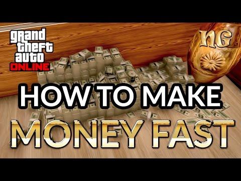 GTA V Online: How to make money fast