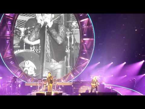 'Save Me' Queen + Adam Lambert Nottingham FM Arena 24-01-2015