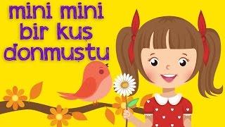 Mini Mini Bir Kuş Donmuştu Çocuk Şarkısı 2016