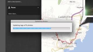 Geotagging photos in iPhoto