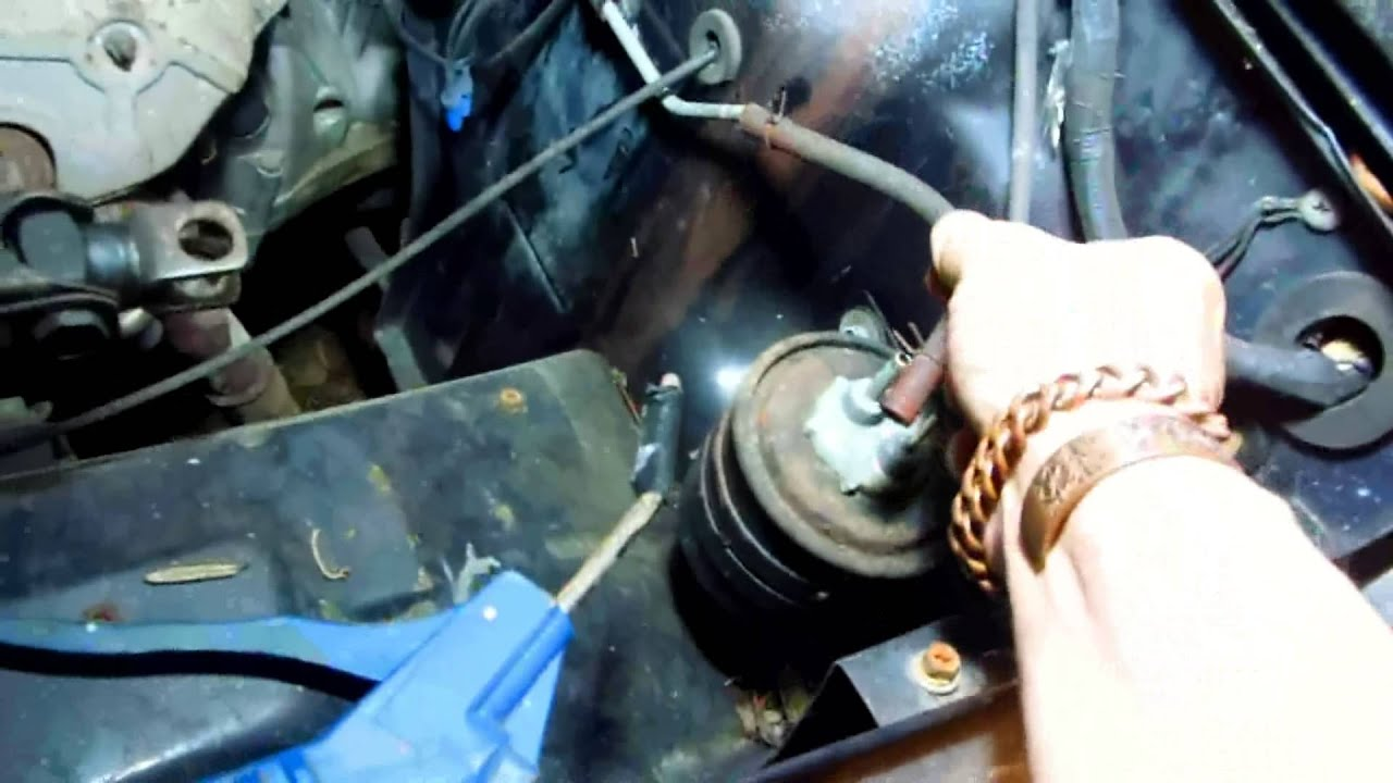 how to check the charcoal canister return fuel system