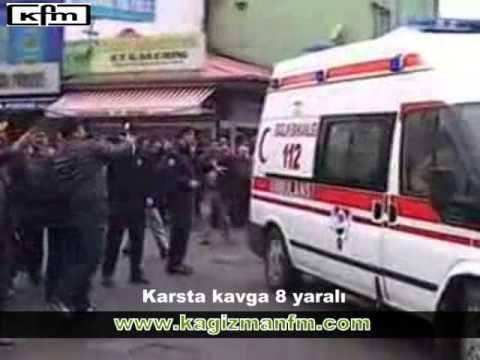 Kars'ta kavga 8 kişi yaralı,