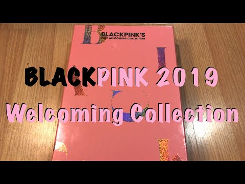 BLACKPINK 2019 Welcoming Collection Unboxing