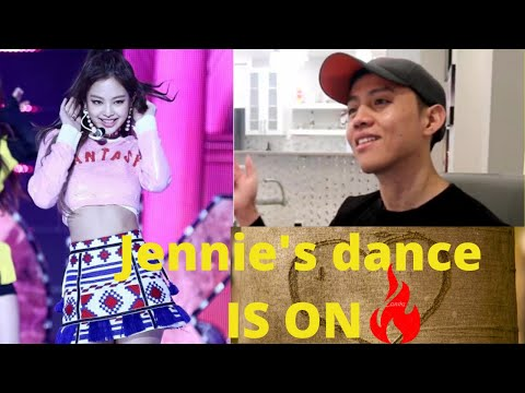 BLACKPINK   Jennie being a main dancer for 5 minutes   REACTION VIDEO BY REACTIONS UNLIMITED