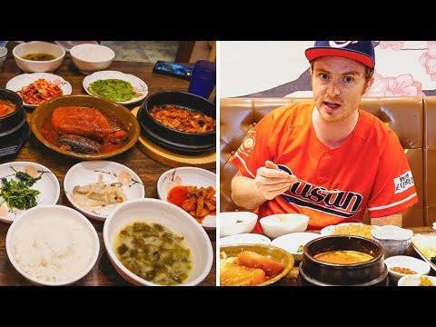 EPIC KOREAN BREAKFAST FEAST in Busan, Korea + Visiting Busan Tower (부산타워)