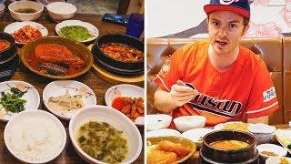 EPIC KOREAN BREAKFAST FEAST in Busan, Korea + Visiting Busan Tower (부산타워)