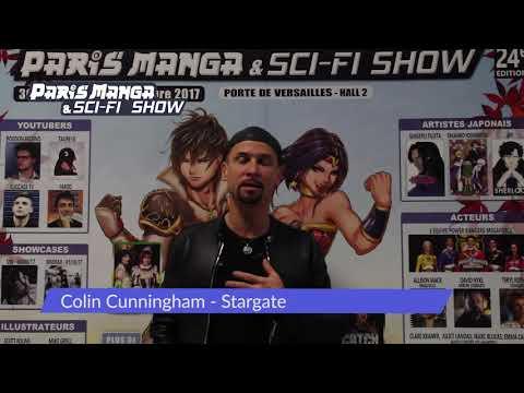 colin cunningham à Paris Manga & SCIFI  24