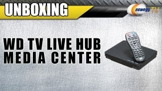Unboxing: WD TV Live Hub Media Center