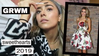 GRWM - SWEETHEARTS DANCE 2019 | ashlund jade