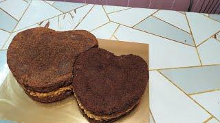 Формируем и собираем торт Два сердца Дорабатываем насадки