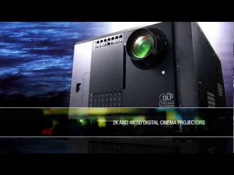 NEC Digital Cinema Projectors