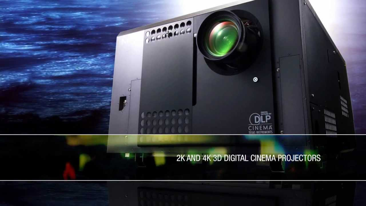 nec digital cinema projectors youtube