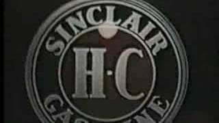 Sinclair Super Octane Powered Gasoline Promo