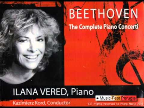 Ilana Vered plays LV Beethoven Piano Concerto No.1 in C major, Op. 15
