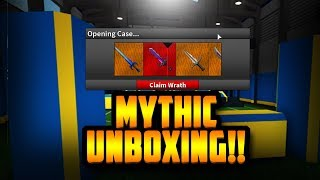 UNBOXING THE BRAND NEW WRATH MYTHIC!! *INSANE LUCK* (ROBLOX ASSASSIN)