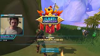NINJA Plays REALM ROYAL and ABSOLUTLY LOVES IT! Fortnite KILLER SUBSCRIBE FOR $100 giveaway