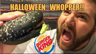 FAT MANS A1 HALLOWEEN WHOPPER REVIEW!!